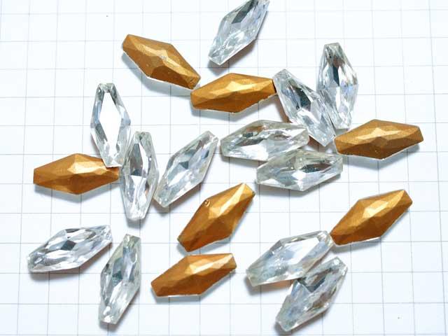 RO100JJ 15×7 ダイヤモンドシェイプ クリア