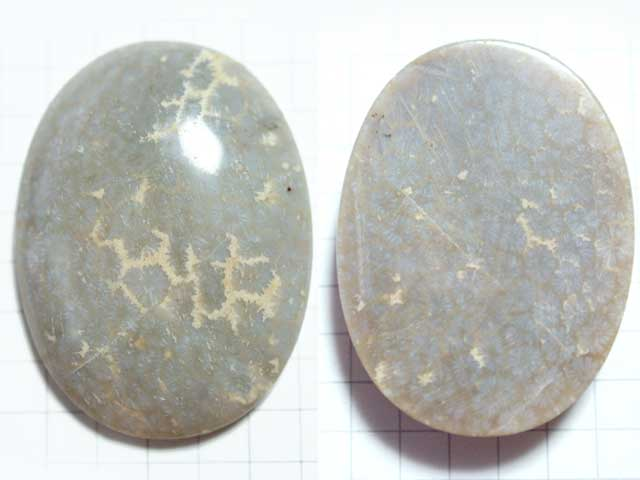 STK165T39.8×29.5 オーバル 菊目石